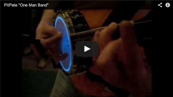 PitPete OneManBand-Video